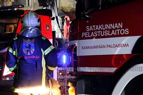 Keskiviikon harjoitukseen osallistuu Satakunnan pelastuslaitoksen Kankaanpään paloaseman päätoimista henkilöstöä ja Jämijärven vpk.