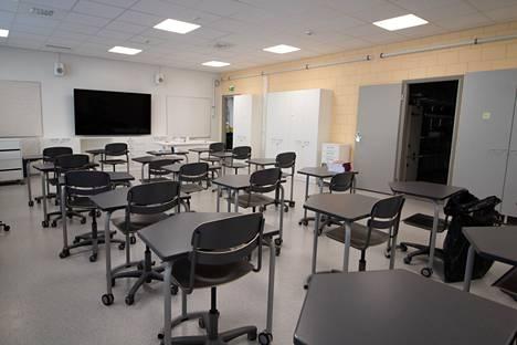 Sinervän uusi koulurakennus valmistui keväällä 2021. Kesän aikana koulun tiloja on sisustettu ja kalustettu.