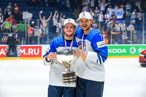 Kantavatko ystävykset Niko Ojamäki ja Oliwer Kaski jälleen viikonloppuna MM-pokaalia?
