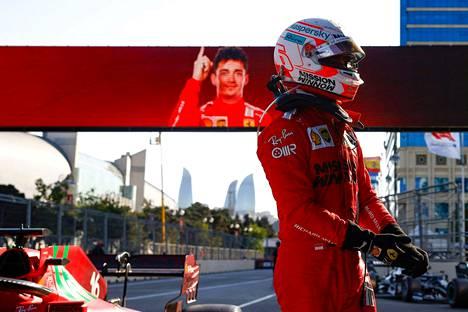 Charles Leclerc otti kauden toisen paalupaikkansa.