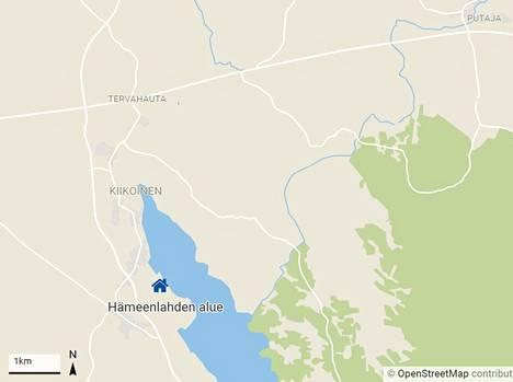 Aloitteessa mainittu kaavamuutos koskisi Kiikoisjärven länsirannalla sijaitsevaa kaupungin omistamaa aluetta.