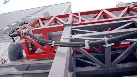 Keraamiletku on suomalainen tuote ja letkut valmistetaan Teknikumin Sastamalan tehtaassa.