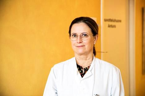 Jaana Syrjänen on Taysin infektioyksikön ylilääkäri.