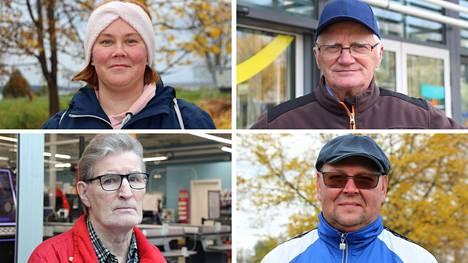 Sanna Railo, Pertti Kulmala, Raimo Sillanpää ja Jukka Tahvanainen vastasivat Tyrvään Sanomien kysymykseen maskien käytöstä.