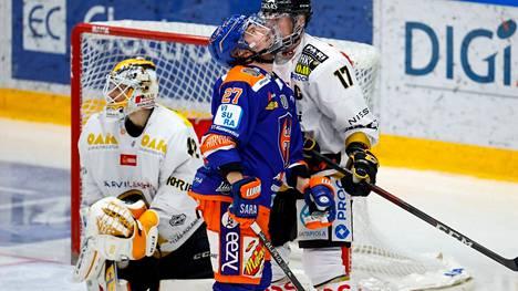 Kristian Tanus harmitteli maanantai-iltana hukattua maalipaikkaa.