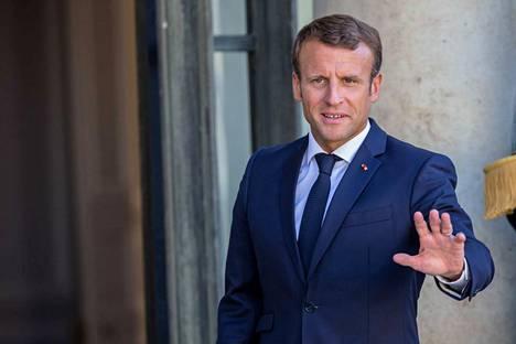 Ranskan presidentti Emmanuel Macron syyttää Brasilian presidenttiä valehtelusta.