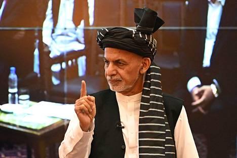 Afganistanin presidentti Ashraf Ghani.