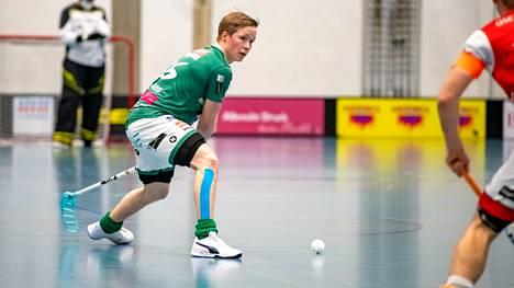 Krister Savonen pelasi kaksi edellistä kautta SV Wiler-Ersigenin paidassa.