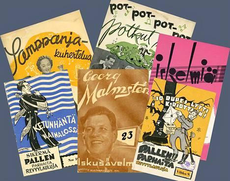 Menneessä Suomessa elokuvalauluista painettiin nuotteja. Ne olivat kotikäytössä kuuminta hottia.