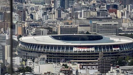 Tokion massiivinen olympiastadion on odottanut kisojen avajaisia jo yli vuoden. Tokin 2020 olympialaiset alkavat 23. heinäkuuta 2021.