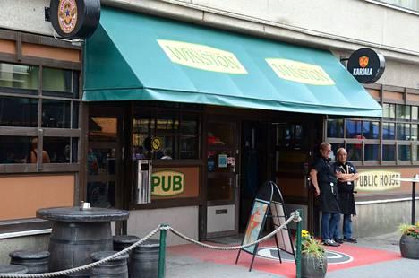 Pub Winston on toiminut Porin keskustassa vuodesta 1983. Arkistokuva.