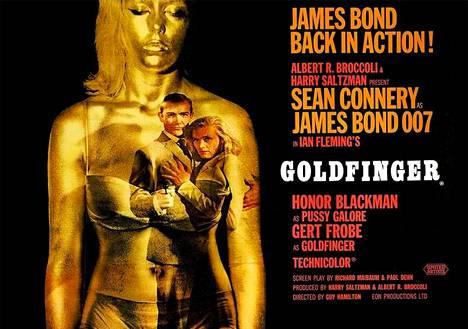 Goldfinger-elokuvan teemakappale oli yksi John Barryn lukuisista sävellyksistä ja ensimmäinen Shirley Basseyn laulamista teemoista. Se oli vähällä jäädä pois elokuvasta, sillä elokuvan tuottajan Harry Saltzmanin mielestä se oli huonoin laulu, jonka hän oli koskaan kuullut.