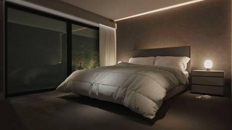 Erilaisia valaistustapoja yhdistelemällä tilaa voidaan muotoilla niin että se tuntuu miellyttävältä.