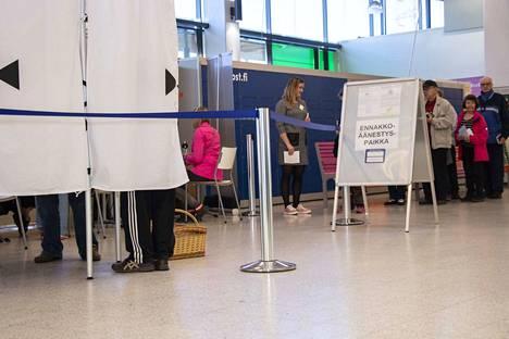 Tamperelaiset ja pirkkalalaiset ovat äänestäneet Pirkanmaan vaalipiirissä vilkkaimmin.
