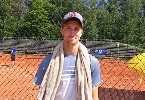HVS-tenniksen Patrick Kaukovalta saavutti haluamansa välietapin urallaan voittamalla Suomen mestaruuden.