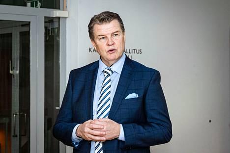 Tampereen kauppakamarin toimitusjohtaja Antti Eskelinen kuvattuna Tampereella vuoden 2021 helmikuussa.