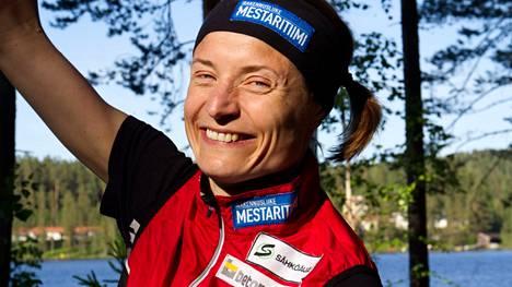 JRV:n Merja Rantanen oli viikonloppuna kuudes keskipitkän matkan SM-kilpailuissa.