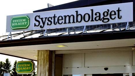 Ruotsin Systembolaget testaa itsepalvelupalvelukassoja. Tämä Haaparannassa sijaitseva Systembolaget kuvattiin heinäkuussa 2019.