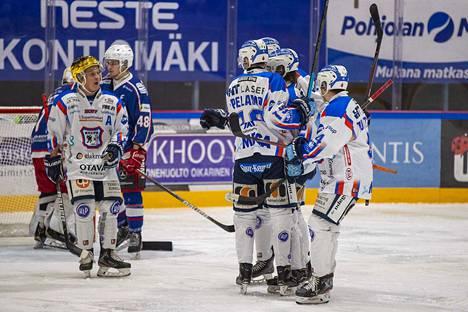KeuPa HT:n Janne Kettusen kauden 12. maalin syntyi aivan avauserän lopulla.