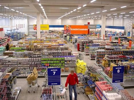 Valmistuessaan Porin Bilteman tavaratalo työllistää Porissa 25–30 henkeä. Arkistokuva on Kempeleen Biltemasta.