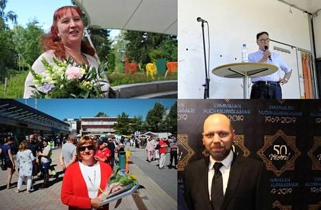 Neljänä viime vuonna Sastamalan Avainhenkilöksi on valittu Mira Ekholm-Martikainen, Kirsi-Marja Nieminen, Pertti Valkama ja Reino Rinne.