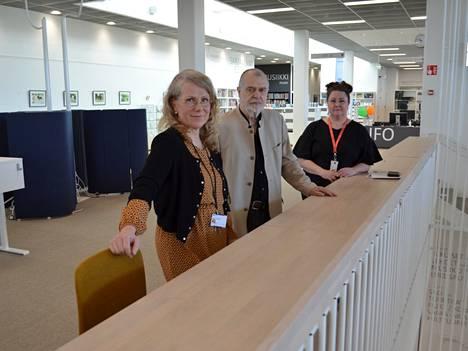 Asta Engström, Jyrki Käkönen ja Pia Keltti sanovat, että kulttuuripääkaupunkihankkeessa kysymys on muustakin kuin kulttuurista. Näkökulma on huomattavasti laajempi.