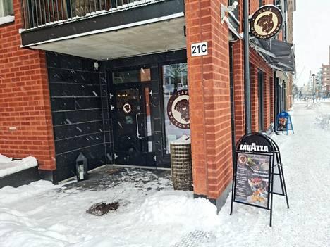 Cafe Metsonkulma löytyy Puutarhakadulta Metso-kirjaston naapurista.