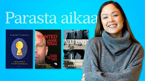 Sita Salminen on esimerkki 2020-luvun kirjailijasta. Marraskuussa Kosmos myi vloggaajan eroottisen novellikokoelman loppuun jo ennen sen varsinaista ilmestymistä. Keväällä esikoisromaaneja saadaan muun muassa Johanna Vuoksenmaalta, Milja Sarkolalta, Niko Rantsilta ja Antti Hyyryseltä. Äänikirjoina menestyvät monenlaiset elämäkerrat.