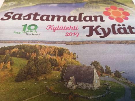 Sastamalan Kylät -lehti ilmestyi huhtikuussa 2019.