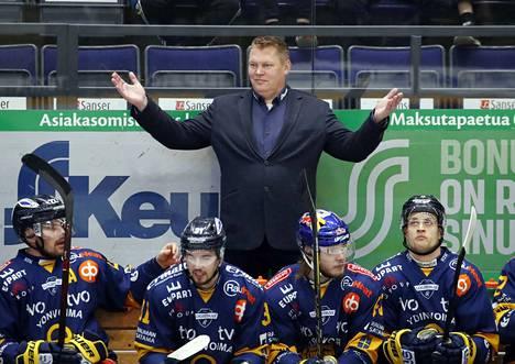 Pekka Virta johdatti Lukon kevätkauden parhaaksi joukkueeksi.