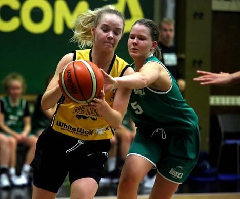 Emilia Jokisen pistesaalis oli 12 Honka-ottelussa.