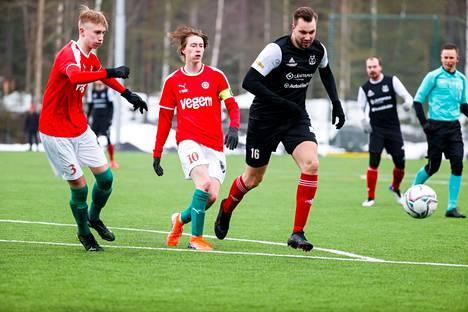 TPV ja Ilves-Kissat kohtasivat harjoitusottelussa Kaupissa lauantaina.