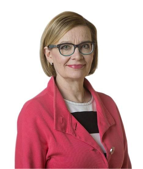 Paula Risikko on kansanedustaja (kok.), opettaja ja terveystieteiden tohtori.