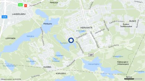 Tampereen Hervannan Suolijärven talviuintipaikalla tarvittiin pelastuslaitoksen apua tiistaina päivällä.