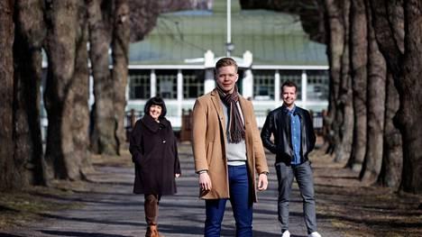 Jesperi Onnelan yritys pyörittää Kirjurinluodon uutta kahvila-ravintolaa yhteistyössä Pori Jazzin kanssa. Nuoren miehen apuna on kokenut taustatiimi: hänen äitinsä Petra Onnela ja isoveljensä Kasperi Onnela.