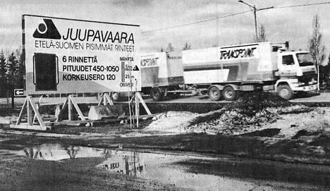 """""""Etelä-Suomen pisimmät rinteet"""" menivät monelta sivu suun vielä viime talvena."""