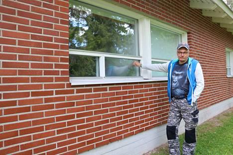 Kankaanpään Seurakunnan nuorisotyönohjaaja Juha Erkkilän mukaan kuvassa näkyy paikkakunnan yksi suosituimmista yöjuoksupaikoista. Öinen ikkunoihin paukuttelu on häirinnyt etenkin varhaisnuorten leirejä.