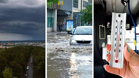 Ilmastonmuutoksen myötä rankkasateet lisääntyvät Pirkanmaalla. Myös taajama-alueiden tulvat ja helteet tulevat yleistymään.