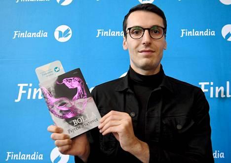 Pajtim Statovci sai Bolla-romaanillaan Finlandia-palkinnon vuonna 2019.