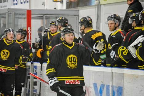 VG-62 voitti lauantain kotiottelussa LuKi-82:n maalein 7-0