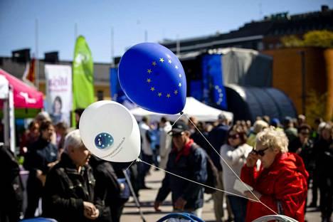 Puolueet kampanjoivat kiivaasti erityisesti viime torstaina, Eurooppa-päivänä.