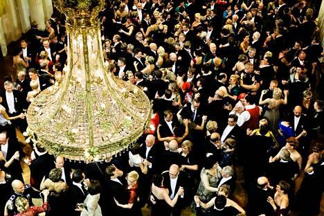 Linnan juhlat on ollut jokavuotinen itsenäisyyspäivän ohjelmanumero. Niin myös vuonna 2012.