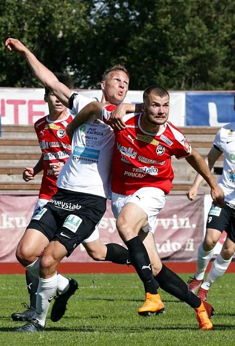 Jussi Välilä väänsi jälleen vahvasti MuSan alakerrassa rökäletappiosta huolimatta.