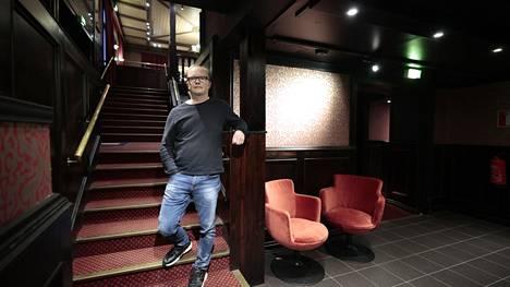 Porilainen yökerho PK otti käyttöön koronapassin. Kuvassa yrittäjä Janne Koivunen.