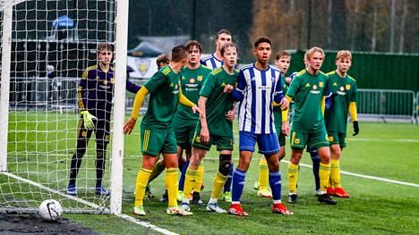 Kai Pahlman -turnauksen järjestäjäjoukkue Ilves pelaa viimeisen lohkovaiheen ottelunsa PKKU:ta vastaan. Kuva perjantaiaamulta, jolloin Ilves kohtasi HJK:n.