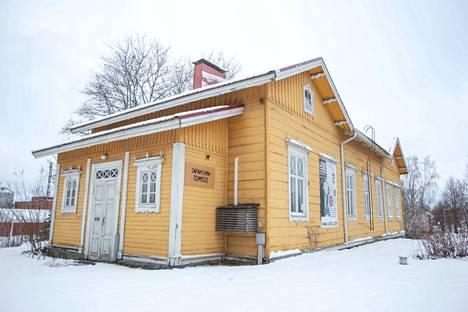 Entisessä kanavakasöörin talossa toimii nykyään Työväen musiikkitapahtuman toimisto. Arkistokuva.