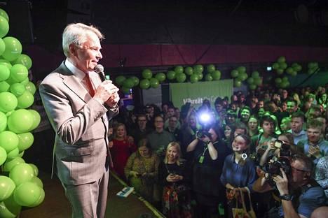 Pekka Haaviston johtama vihreät kasvatti kannatustaan ja kansanedustajiensa määrää eduskuntavaaleissa pari viikkoa sitten.