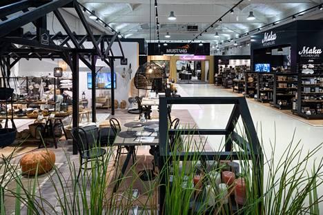Nykyinen Tammer Brandsin showroom. Pienet tilat ovat olleet kaupallisen johtajan Vesa Mäenpään mukaan yrityksen kasvun pullonkaulana.