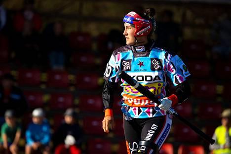 Susanna Puisto voitti viime vuonna ensimmäisen kerran lyöjätilaston. Toinen voitto on nyt lähellä.