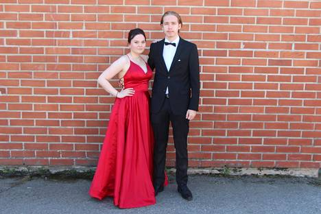 Pinja Nieminen ja Onni Haapala